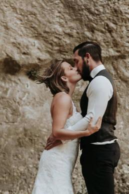 photo apres le mariage en provence