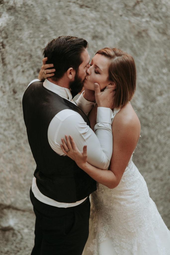 photo apres le mariage dans le vaucluse