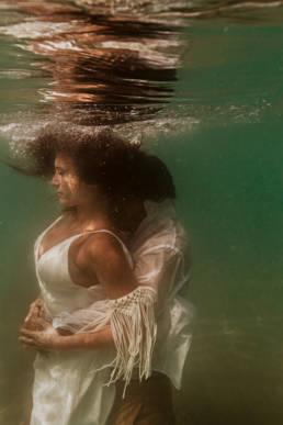 mariage underwater mer Méditerranée