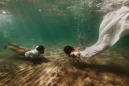 élopement subaquatique mer mediteranée