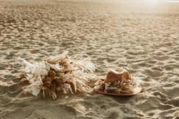 chapeau de mariage à la plage montpellier