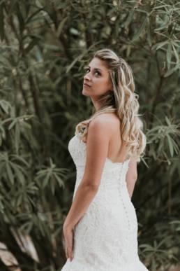 photo robe de mariée de dos
