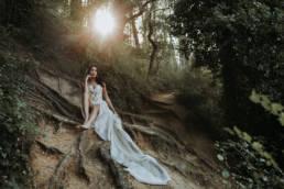 Contact portfolio photographe mariage intimiste en forêt