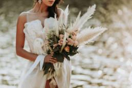 Photo bouquet de mariage en Provence