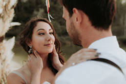 couple mariés en provence vaucluse et hérault