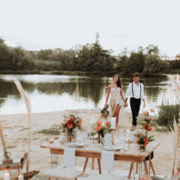 portfolio photo pas de repas de mariage