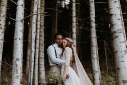meilleur photographe mariage dans les bois, dans les cévennes