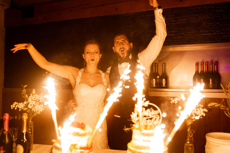 Photo pièce montée et dessert de mariage à Montpellier