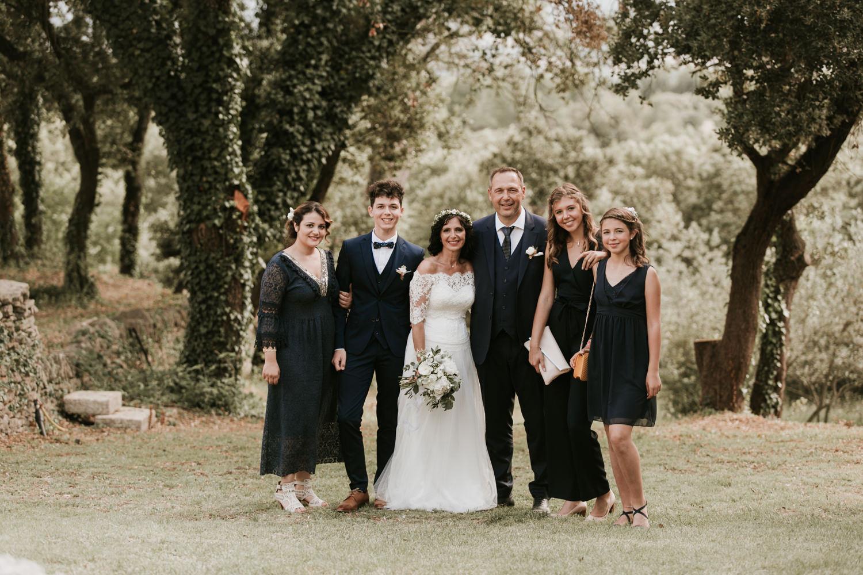 Photo de groupes mariage à Montpellier
