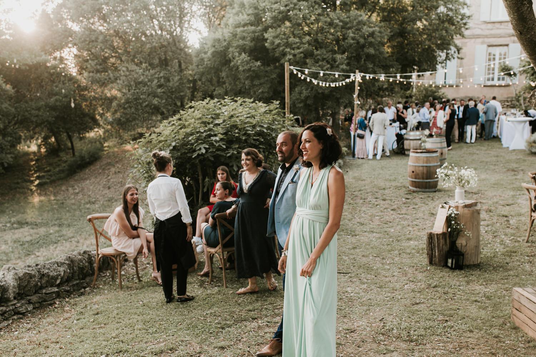 Photographe mariage Montpellier, le vin d'honneur