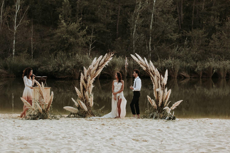 Photographe mariage Montpellier cérémonie laïque